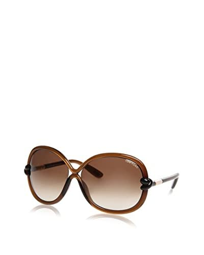 Tom Ford Gafas de Sol Ft185 01B (64 mm) Plata / Marrón