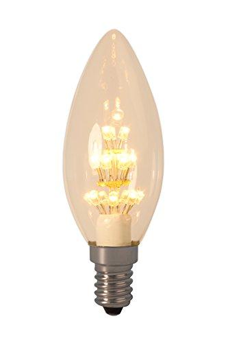 Mit Warenzeichen versehene Perl-LED Kerzenleuchtmittel 240V E14 B35, 17 LEDs 2100K - KOSTENLOSE SUPER SAVER LIEFERUNG DURCH AMAZON