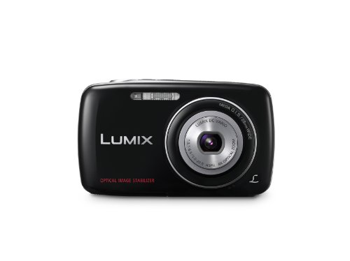 Black Friday Panasonic Lumix DMC-S3 14.1 MP Digital Camera with 4x Optical Image Stabilized Zoom with 2.7-Inch LCD (Black) Deals