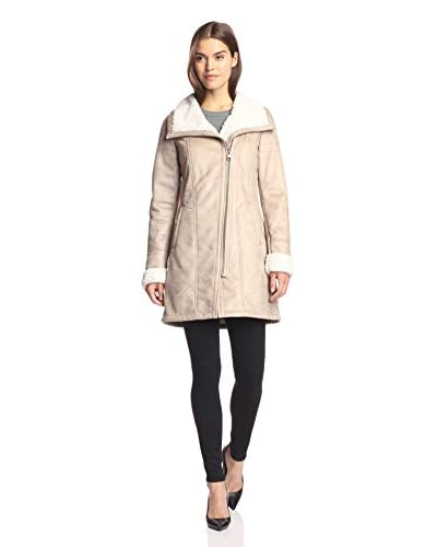 7 For All Mankind Women's Faux Shearling Coat