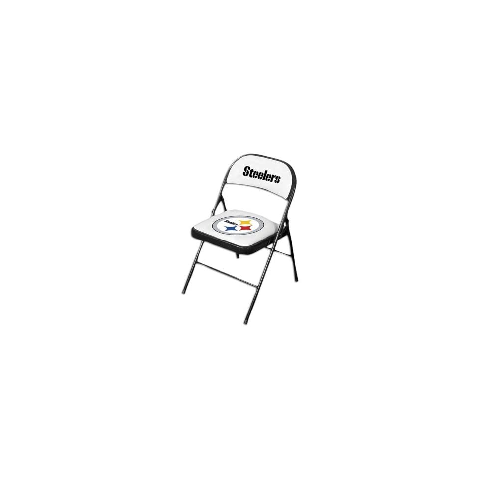 Outstanding Steelers Hunter Nfl Folding Chairs Set Of Two On Popscreen Lamtechconsult Wood Chair Design Ideas Lamtechconsultcom