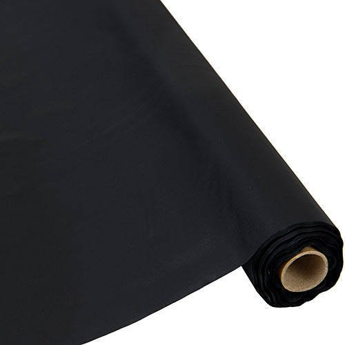 Plastic Table Cover 40 Inch Black 300 Feet Roll (Plastic Table Covering compare prices)