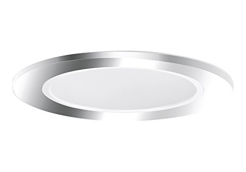 "Aurora 5"" White Cone, Polished Chrome Trim For Halo / Juno Recessed Downlight Cans - Ar-Tr53Swpc"