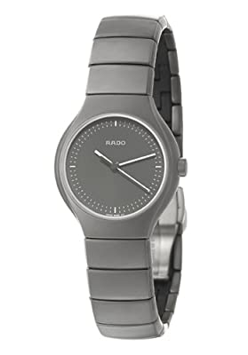 Rado Women's R27899102 Ceramic Analog Black Dial Watch
