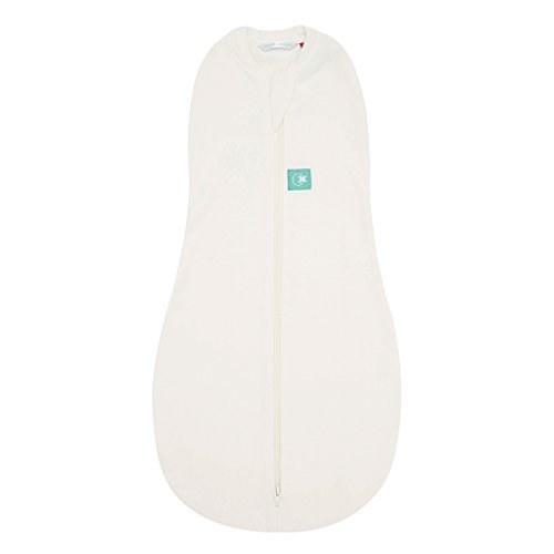 Baby Banz Newborn Ergo Cocoon Zipup Swaddle, Natural, 3-12 Months (Discontinued by Manufacturer)