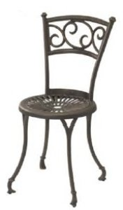 Latene Chair (French Bronze) (33.5