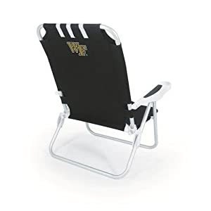 Buy NCAA Wake Forest Demon Deacons Monaco Folding Beach Chair by Picnic Time