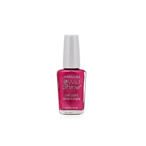 ウェットアンドワイルド Wild Shine Nail Color Frosted Fuchsia