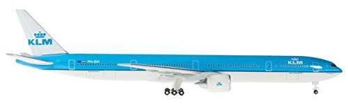 DARON Herpa KLM 777-300ER REG#PH-BVI Plane (1/500 Scale) (Klm Model Plane compare prices)