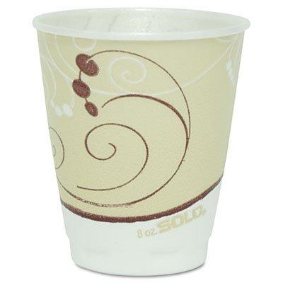 -- Symphony Trophy Plus Dual Temperature Cups, 8 oz,100/Pack