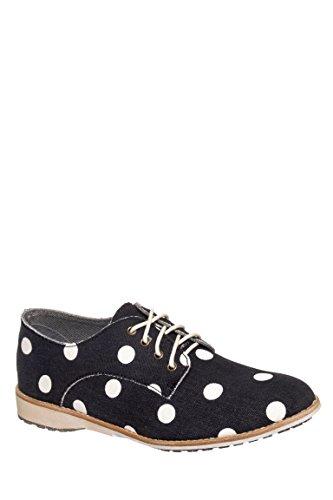 Polka Dot Derby Shoe