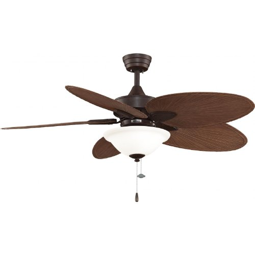 Fanimation Windpointe 52 Inch Outdoor Ceiling Fan - Rust