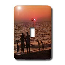 Florene Sunset - Vacation - Light Switch Covers - single toggle switch