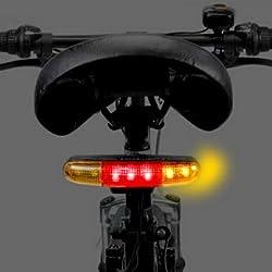 夜間 事故 防止 自転車 用 ウインカー & ブレーキ ランプ