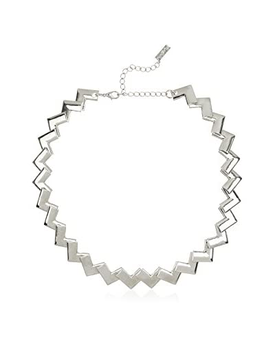 Pepe Jeans London Collana Silver Zigzag Necklace