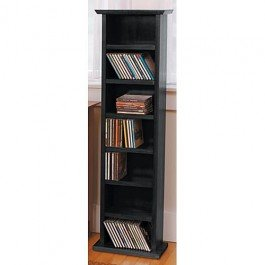 Shaker Style CD Stand Stain Shaker Style CD Stand