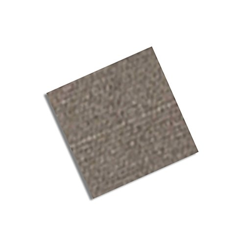 """Tapecase 3M Cn3490 2""""Sq-100 Gray Non-Woven Conductive Fabric Tape, 2"""" Length, 2"""" Width, Squares (Pack Of 100)"""