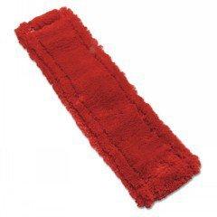 Mop Head, Microfiber, Heavy-Duty, 16 X 5, Red front-528795