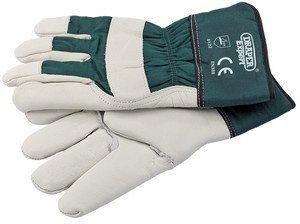 Draper 18265 Large Premium Leather Gardening Glove