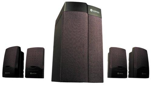 Kinyo TA-927 4 1 Game Zone Computer Speakers 5-Speaker BlackB00007B5DC