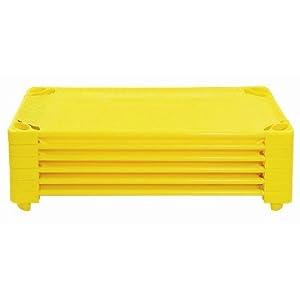 Assembled Color Cots [Set of 5] Color: Yellow