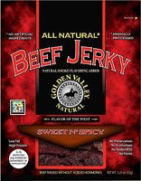 Golden Valley Natural Beef Jerky Old Fashioned Sweet N' Spicy -- 3.5 oz from Golden Valley Natural