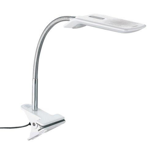 TWINBIRD LEDクリップライト ホワイト LE-H621W