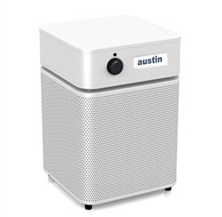 Austin Air HealthMate Jr PLUS Air Cleaner, White