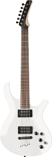 Parker Pdf35Wh Maxxfly Pdf Series Solid-Body Electric Guitar, White
