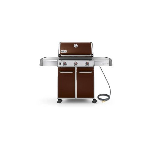 weber genesis e 310 3 burner brown natural. Black Bedroom Furniture Sets. Home Design Ideas