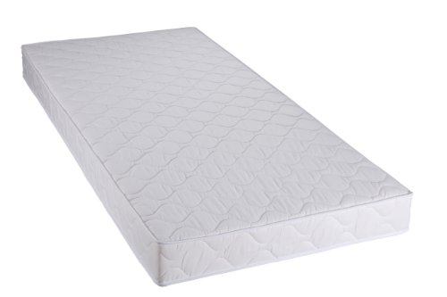 Badenia Bed Comfort 3887860159 Roll up Comfort Mattress Trendline BT 100 H2 90 x 200 cm White