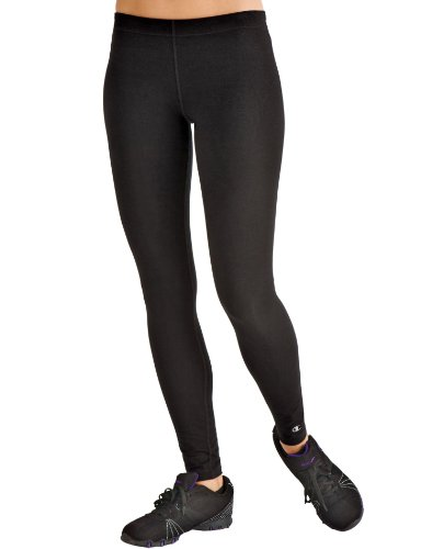 Champion Double Dry® Cotton Skinny Tights, S-Black (Champion Shape Tight compare prices)