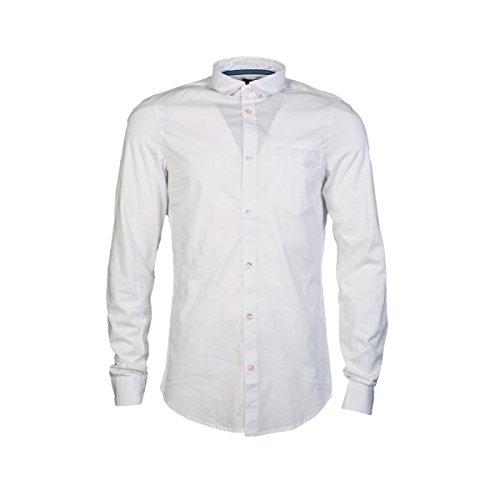 Armani Jeans -  Camicia classiche  - Classico  - Maniche lunghe  - Uomo White XX-Large