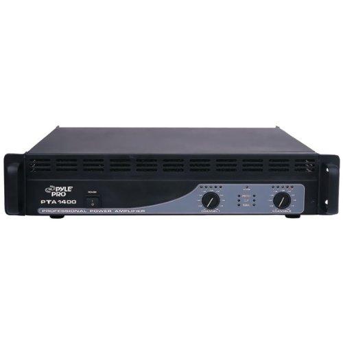 Awm Pyle-Pro Pta1400 Professional Power Amplifier (1400 Watt) - Amplifiers