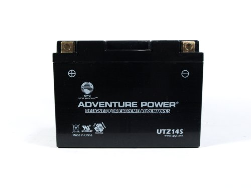 UPG UTZ14S  Adventure Power Power Sport AGM Series Sealed AGM Battery