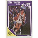 1989-90 Fleer John Stockton Basketball Card #156 - Shipped In Protective Display... by Fleer