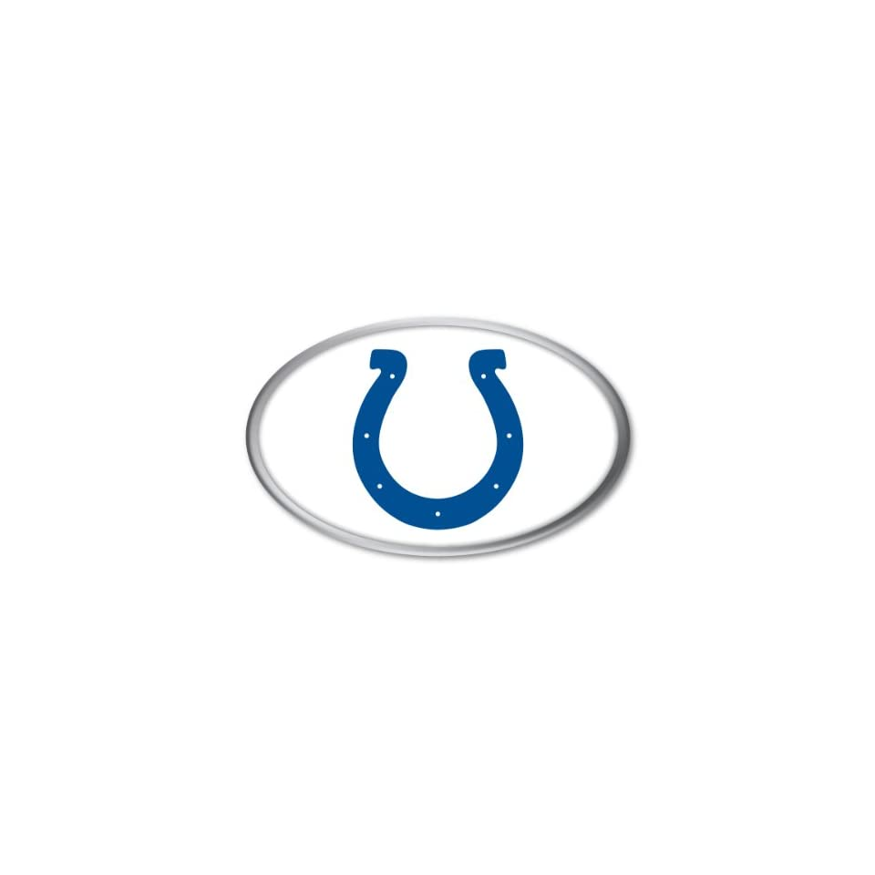 Indianapolis Colts NFL Football Team Color & Chrome Car
