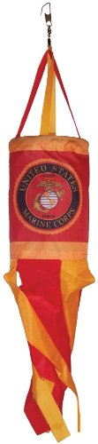 In the Breeze U.S. Marine Corps Spinsock, 14-Inch