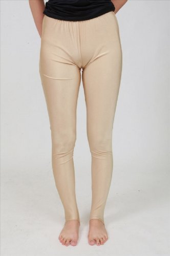 Exposure measures smooth flesh-colored knit 10 parts of length spats (Foundation Body) (KN009) Chubby (japan import)