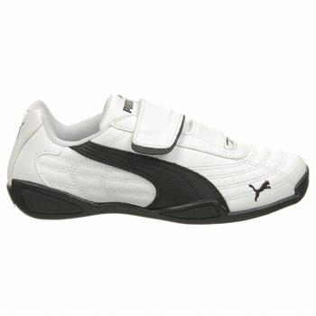 PUMA Tune Cat B V Kids Sneaker (Toddler/Little Kid),White/Black,9 M US Toddler