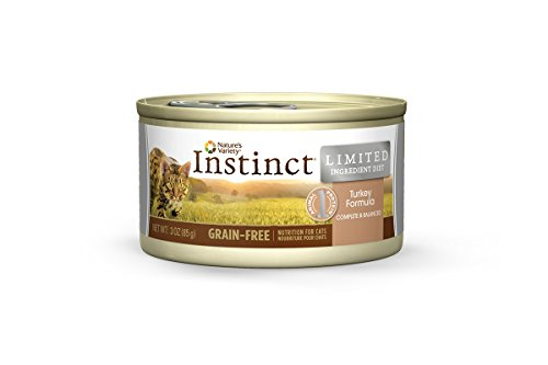 Nature's Variety Instinct Limited Ingredient Diet Grain-Free Turkey Formula Canned Cat Food, 3 oz. (Case of 24)