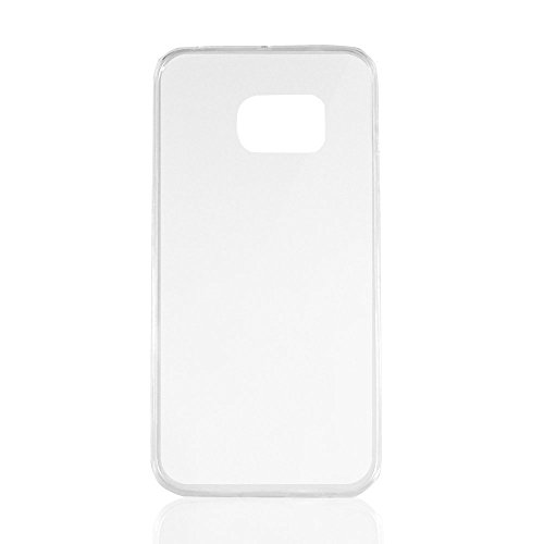 Aodoor Coque Etui Housse Case Bumper en Transparente Silicone Gel et TPU pour Samsung s6 edge