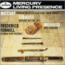 Mozart: Serenade No. 10; Strauss: Serenade in E-flat/Milhaud: Suite Française