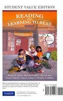 Reading and Learning to Read, Student Value Edition Plus NEW MyEducationLab with Pearson eText -- Access Card (8th Editi