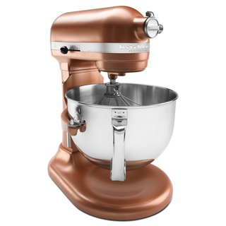 Kitchenaid Kp26M1Xce Professional 600 Series 6-Quart Stand Mixer, Copper Pearl front-131492