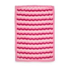 Baby Girl Soft Multi-colored Blanket Pink and White