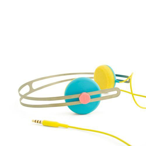 AIAIAI / TRACKS HEADSET Blue/Yellow
