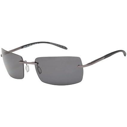 George Gunmetal Gray PC Sunglasses