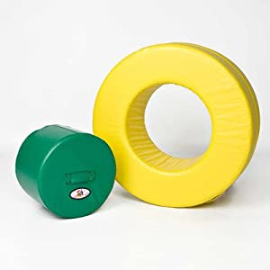 Foamnasium Circle in Circle, Yellow/Green