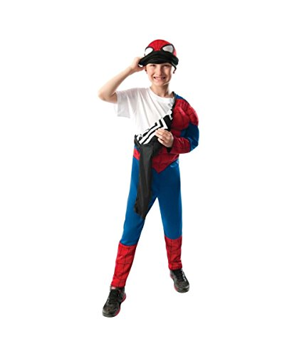 Ultimate Spiderman Movie Reversible Boys Halloween Costume